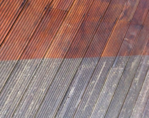 deck cleaning, Stirling