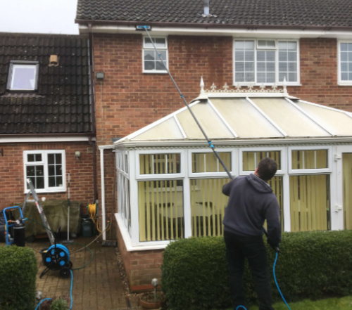 fascia and soffit cleaning, Stirling